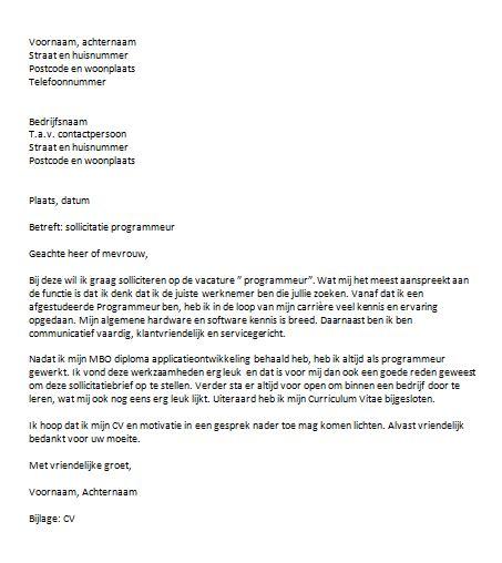 layout zakelijke brief duits zie een sollicitatiebrief voorbeeld de motivatiebrief