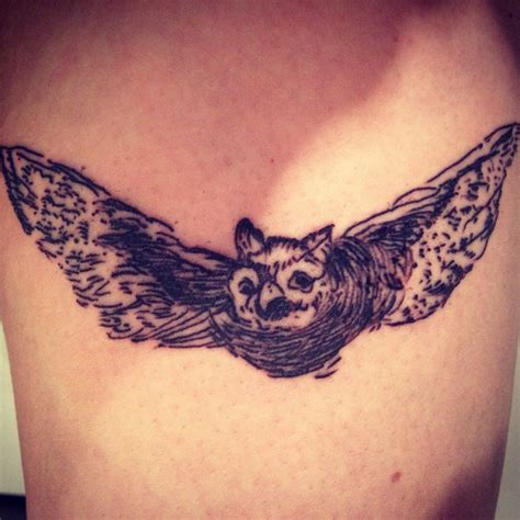 monster tattoo quebec goya owl by angus a dfa tattoo montreal quebec tattoos