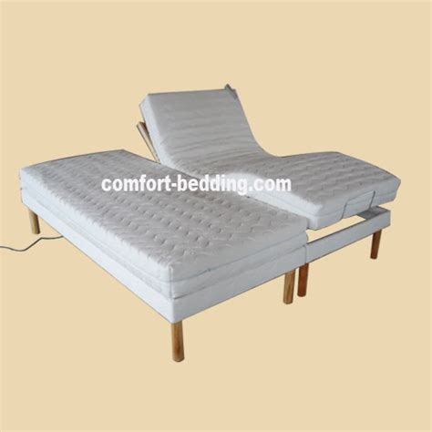 King Size Electric Adjustable Bed Frame King Size Electric Adjustable Bed Frame Steel King Size Split Adjustable Remote Electric Lift