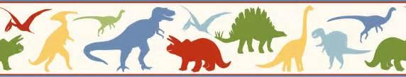 Dino Bedding Warner Wallpaper Byr94301b Dinosaur Wall Border