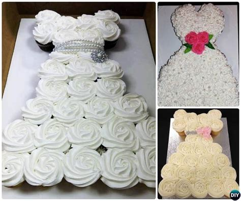 diy pull apart cupcake cake designs tutorials cake