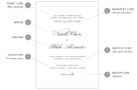 Wording Wedding Invitations by Wedding Invitation Wording Exles Shine Wedding