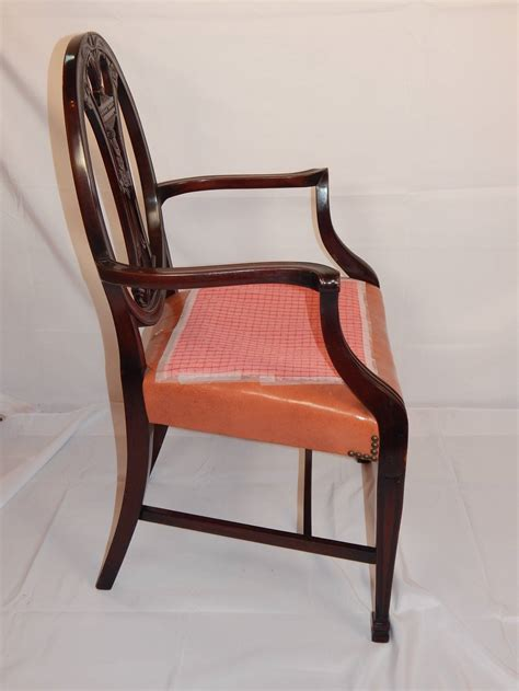 Set Of Eight George Iii Style Carved Mahogany Dining Mahogany Dining Chairs For Sale