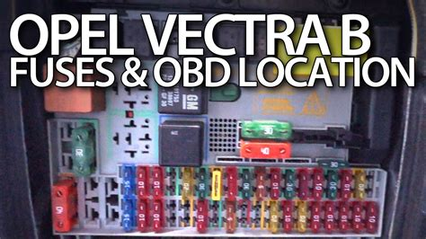 opel vectra b 2003 vauxhall vectra 2003 fuse box location efcaviation com