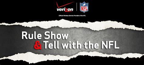 Verizon Nfl Sweepstakes - contest verizon show n tell with the nfl vikings gab