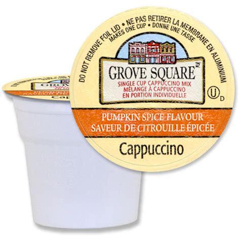Square K grove square pumpkin spice cappuccino 96 ct free