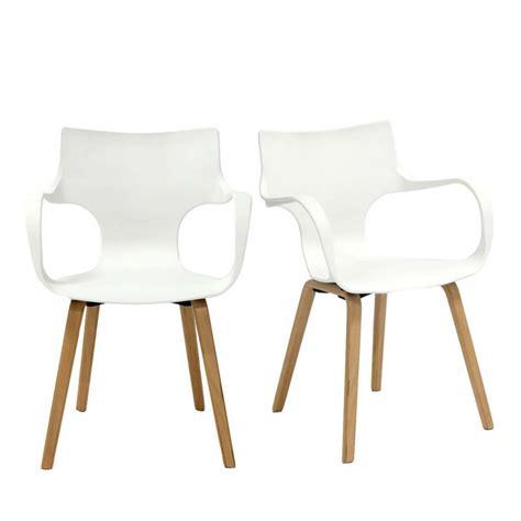 lot chaises lot de 2 chaises design rockwood by drawer