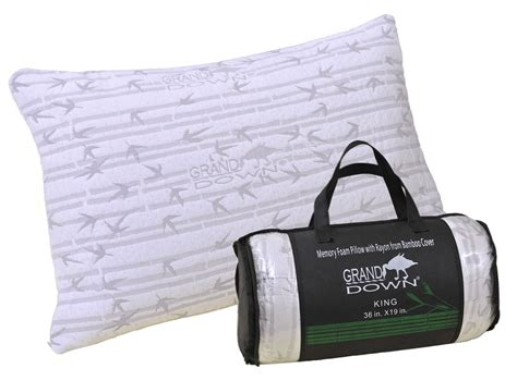 bamboo bed pillows bamboo bed pillow shredded memory foam premium quality