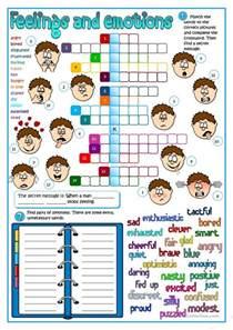 594 free esl feelings emotions worksheets