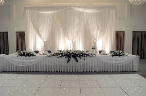 top table backdrop for wedding reception in hertfordshire