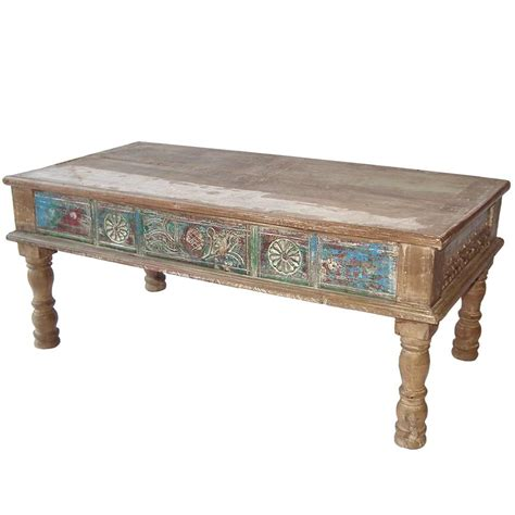 table indienne table basse indienne bois