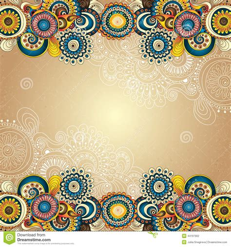 Floral Decorative vector abstract floral decorative background stock vector