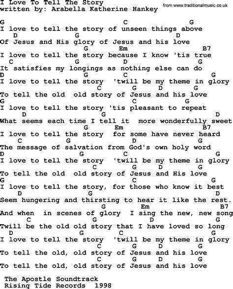 Letter My Story Lyrics Emmylou Harris Song I To Tell The Story Lyrics And Chords