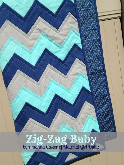 Zig Zag Baby Quilt Pattern by Best 25 Chevron Quilt Ideas On Chevron Quilt