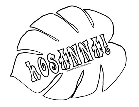 palm branch coloring page coloring home
