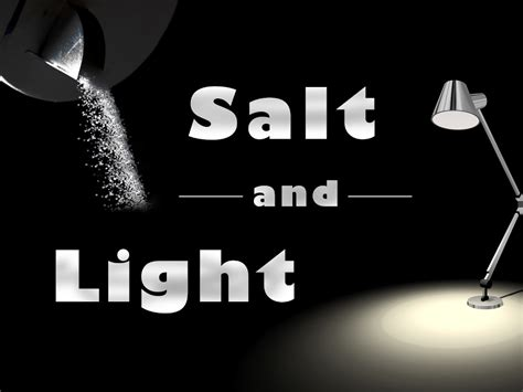 salt and light sermon being the salt and light skyview church of