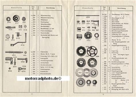 Motorrad Getriebe Arten by Motormobilia Motorrad Ersatzteilliste Getriebe