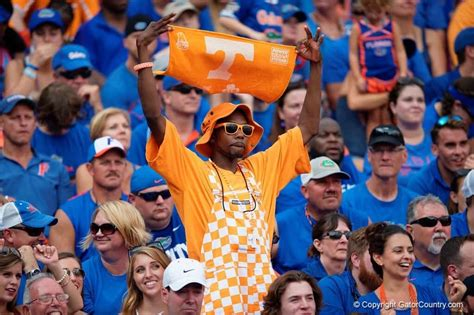 florida gators fan creating a shared history with the florida gators