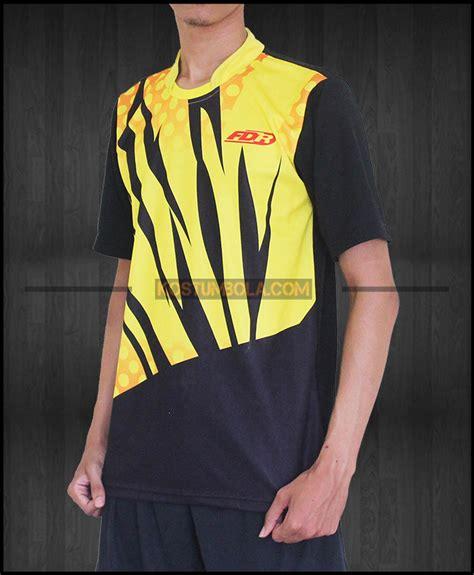 desain kaos badminton design jersey badminton pb fdr bekasi