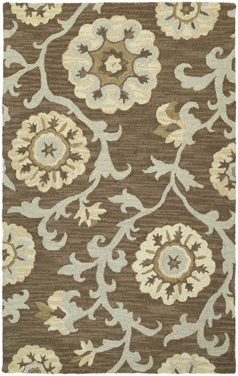 Kaleen Area Rugs Kaleen Kaleen Carriage Cornish Graphite 68 Area Rug 66813