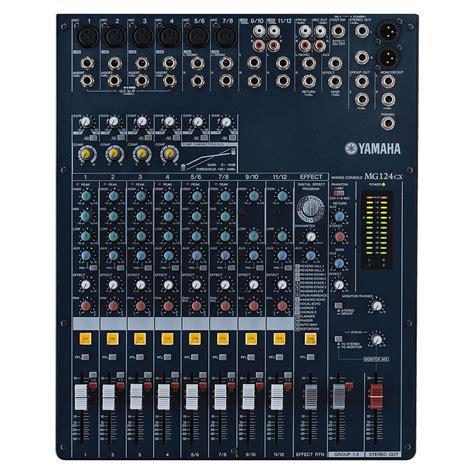 yamaha mg 124 cx 171 mixer