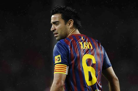 barcelona xavi is barcelona midfielder xavi hernandez on his way to old