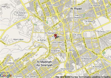 map of riyadh city map of riyadh saudi arabia