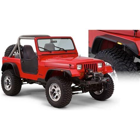 jeep wrangler bushwacker flat fender flares 10924 07 bushwacker flat style fender flares jeep wrangler