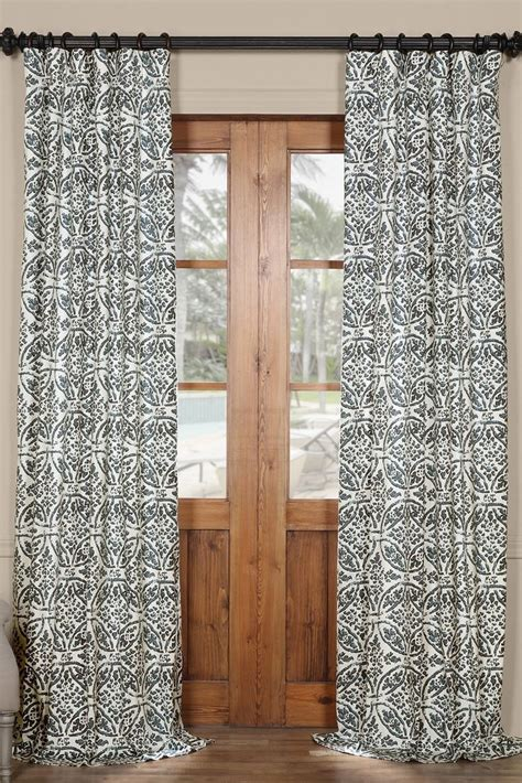 window curtains with hooks learn how to properly hang drapery hooks overstock com