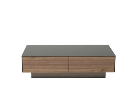 black tempered glass coffee table modern walnut and black tempered glass coffee table