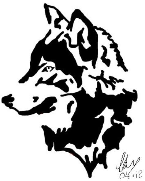 wolf head tattoo by emobunnylord on deviantart