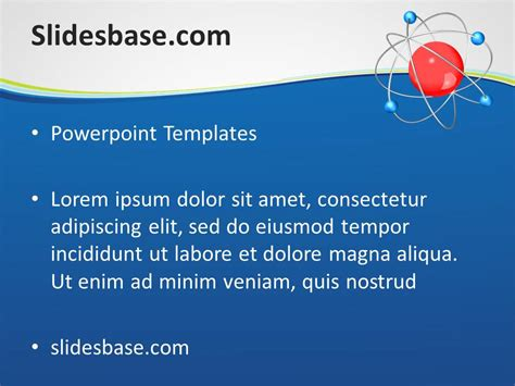 Powerpoint Templates Free Download Physics Image Physics Ppt Template Free