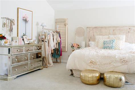 chambre feminine la touche f 233 minine pour une chambre d 233 co unique design feria