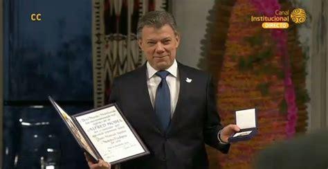 presidente de colombia 2016 el presidente de colombia recibi 243 el nobel de la paz