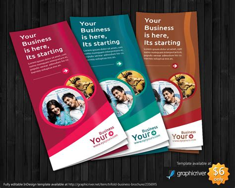 trifold a4 brochure template design by tinjothomasc on
