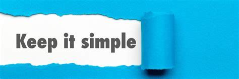 keeping it simple keep it simple microcapclub