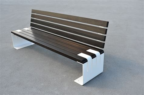panchine design panchina in legno e acciaio incontro by lab23 gibillero