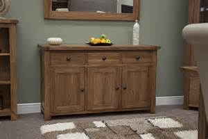 oak livingroom furniture tilson solid rustic oak dining living room furniture large storage sideboard ebay