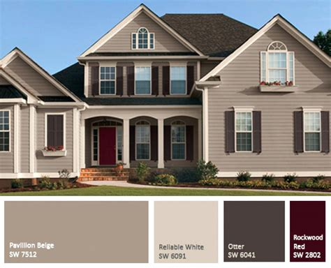 exterior house painting colors visualization 100 front