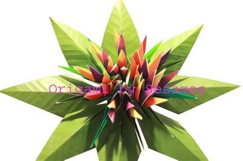 Origami Bird Of Paradise Flower - www sesames co uk origami florist paper origami