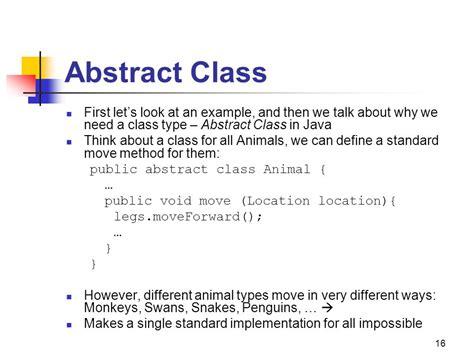 abstract pattern java exle tutorial java abstract class java interface abstract class
