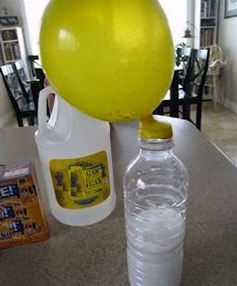 He put the balloon on the bottle and something amazing happened