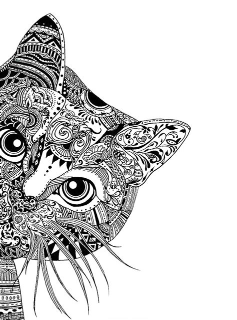 Complex Coloring Pages for Teens and Adults - Best