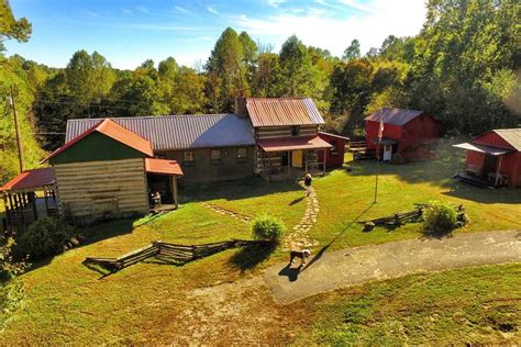 Cabin Creek Farm by 1860s Rustic Farm Compound In Kentucky Asks 385k Curbed