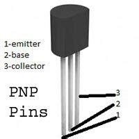 pnp transistor ebc familiarize electronic components part ii transistors electronics hobby