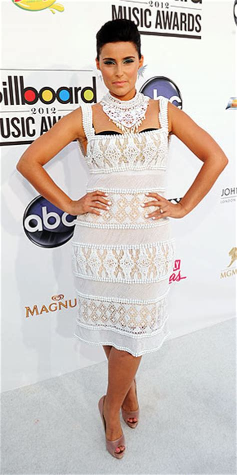 Nelly Furtado Goes It Or It by Style Standouts At The Billboard Awards Nelly