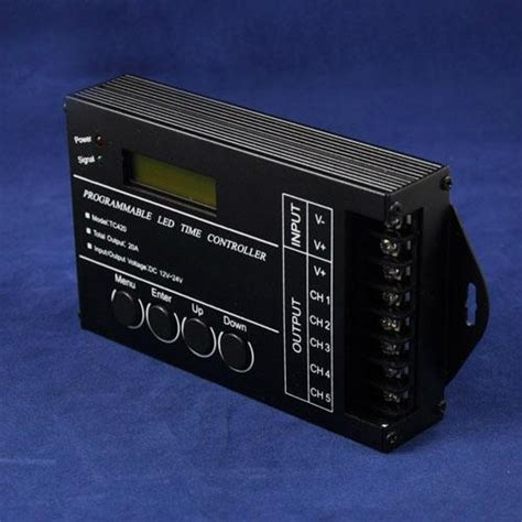 Programmable Led Time Controller Tc420 Worlduniqueen Programmable Light Controller
