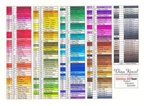 color code chart dina kowal creative touch marker color charts