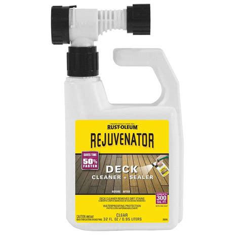 rust oleum restore  qt hose mount deck rejuvenator