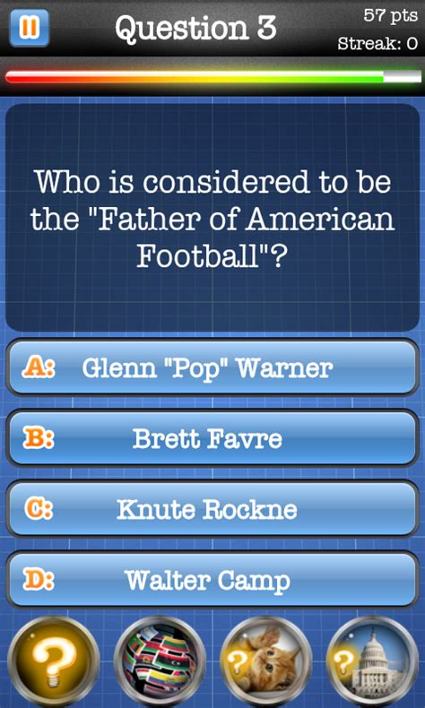 football trivia quiz nfl football quiz free android app android freeware